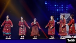 "Russia's Buranovskiye Babushki (""Buranovo Grannies"") are among the acts who have advanced to the final of the Eurovision."