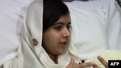 Malala was shot in the head by the Taliban.