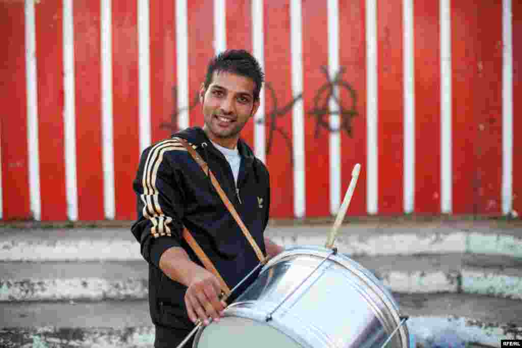 The Drummers Of Macedonia's Semka Band #6