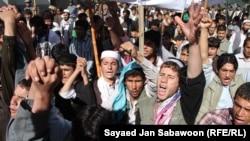 به کابل کې د پاکستان خلاف مظاهره. ۲اکتوبر ۲۰۱۱م کال