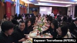 Бонн шаарына чогулган кыргыздар Ноорузду белгилешүүдө, 16-март, 2013-жыл
