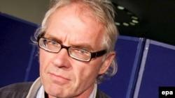 Шведский художник-карикатурист Ларс Вилкс