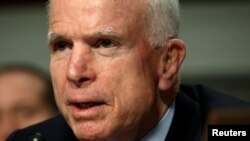 Senate Armed Services Committee Chairman John McCain said the Senate will ratify Montenegro's bid to join NATO soon.