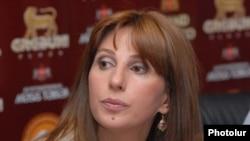 Armenian parliament deputy Zaruhi Postanjian