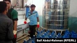 یک شرکت تولید آب بسته بندی