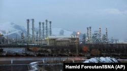 تأسیسات هستهای آب سنگین در نزدیکی اراک یکی از شهرهای بزرگ ایران