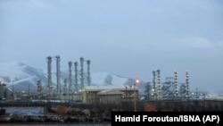 IRAN -- The heavy water nuclear facility near Arak, January 15, 201. File photo