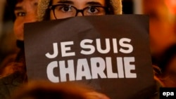 People in France express solidarity with the satirical magazine Charlie Hebdo, which was the subject of a deadly attack by Islamist terrorists last week.