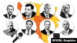 Infografika: Ne/ispunjena predizborna obećanja bh. političara