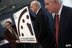 """Стрелка часов """"Судного дня"""", отсчитывающих символическое время до глобального ядерного катаклизма, вновь сдвинулась"""
