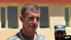 U.S. General Stanley McChrystal has over 100,000 troops under his command in Afghanistan