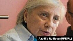 Свідок захисту французьких журналістів, правозахисниця Лейла Юнус