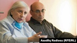 Leyla (left) and Arif Yunus