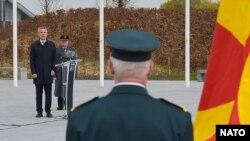Генералниот секретар на НАТО Јенс Столтенберг по пристапувањето на Северна Македонија во НАТО