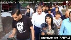 Наира Зограбян, Ереван, 18 сентября 2018 г.