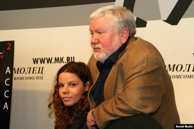 Анна Друбич и Сергей Соловьев