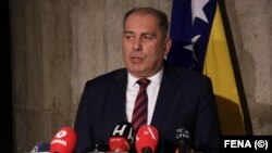 Dragan Mektic was Bosnian security minister until last week.