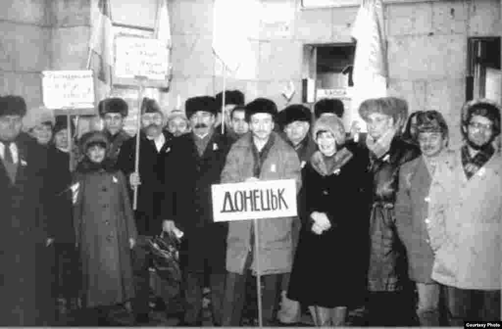 Донецька делегація, яка прибула у Київ