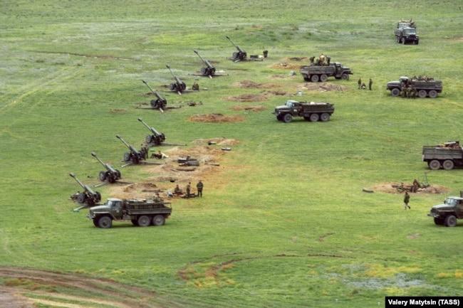 Война в Чечне, артподготовка, 1999 год