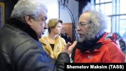 Михаил Гусман и Алексей Венедиктов, архивное фото