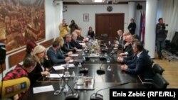 Izaslanstva Zagreba i Jagodine