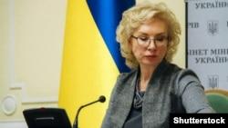 Ukrainian ombudswoman Lyudmyla Denisova