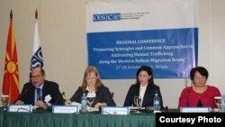 Регионална конференција посветена на борба против трговија со луѓе долж западно-балканската мигрантска рута.