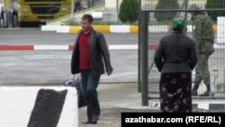 Türkmenistanyň serhet geçelgesi