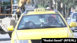 Такси на дорогах Душанбе