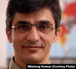 Пресс-секретарь организации «Репортеры без границ» Реза Моини.