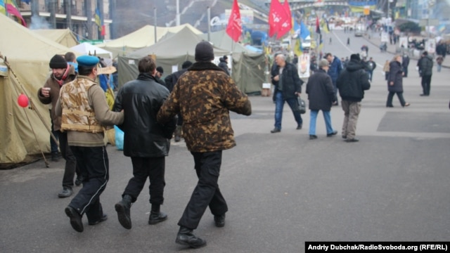 The Euromaidan movement has turned Kyiv's downtown Independence Square into a protest hub since late November.