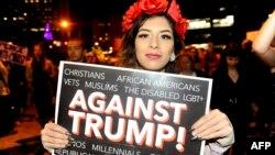 Під час однієї з акцій протесту, Денвер, 10 листопада 2016 року