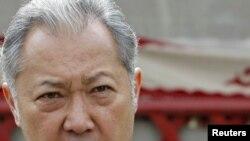 Gyrgyzystanyň öňki prezidenti Kurmanbek Bakyýew