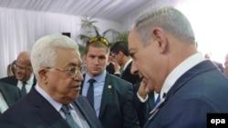 Mahmud Abas i Benjamin Netanjahu