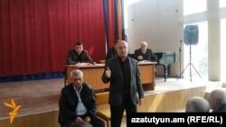 Լեռնային Ղարաբաղի կառավարության ներկայացուցիչների հանդիպումը թալիշցիների հետ: