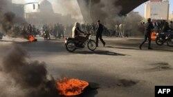 Протесты в Иране. Исфахан, 16 ноября 2019