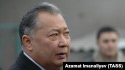 Курманбек Бакиев, бывший президент Кыргызстана.