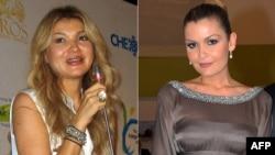 Гульнара (слева) и Лола Каримовы, дочери покойного президента Узбекистана Ислама Каримова.