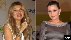Бұрынғы Өзбекстан президенті Ислам Каримовтің үлкен қызы Гүлнара Каримова (сол жақта) мен кіші қызы Лола Каримова-Тилляева