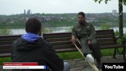 Рафаель Лусваргі дає інтерв'ю проросійському пропагандистському ресурсу у 2015 році