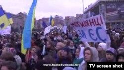 Protesta e studentëve, Ukrainë