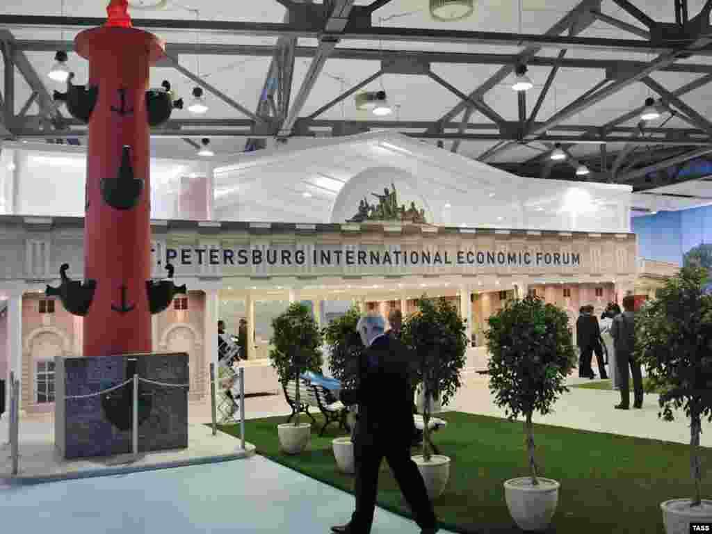 В Петербурге открылся XIII международный экономический форум (ИТАР-ТАСС)