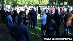 Сход в Ульяновске. 17 мая 2019 года