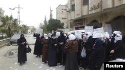 Protestë kundë Bashar al Asadit, Siri