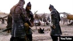 Кадр из фильма «Жаужүрек Мың бала».