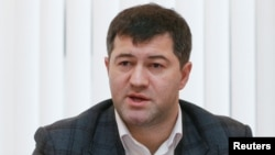 "A special prosecutor tasked with fighting corruption said it will seek the arrest of Roman Nasirov (above) on suspicion of ""abuse of office leading to serious financial losses."""