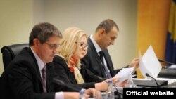 Kryenegociatorja kosovare në bisedimet me Serbinë, Edita Tahiri.