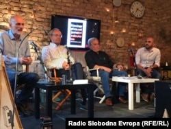 Promotori knjige bili su Boro Kontić, Zlatko Dizdarević i Denis Džidić