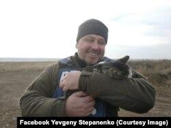 Євген Степаненко на фронті