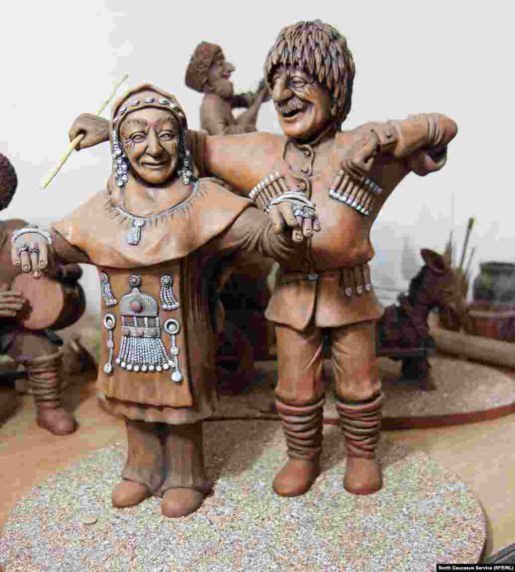 Сулевкент, Балхар, Джули, Нижний Дженгутай - когда-то имена мастеров из этих сел были известны за пределами республики, а их работы считались произведением искусства